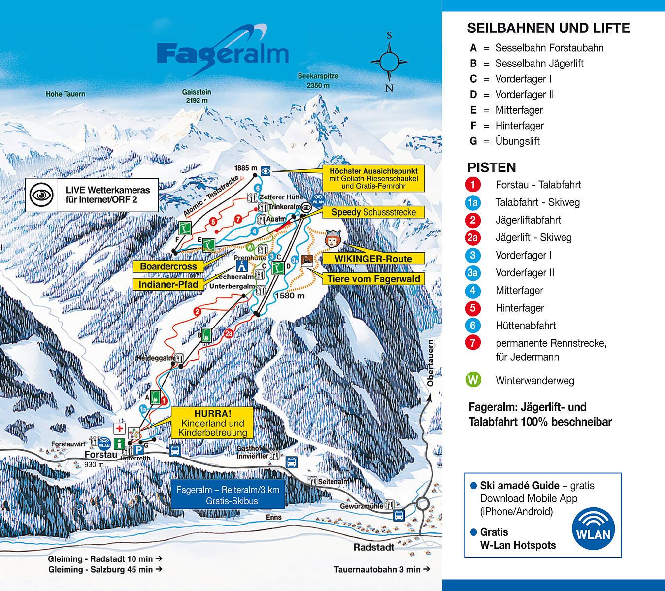 Fageralm Forstau - Ski amade