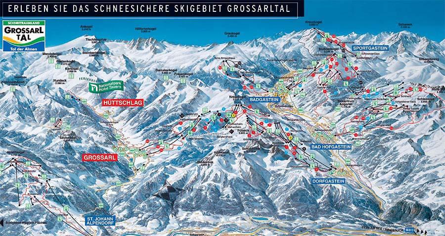 Grossarl Tal - Ski amade