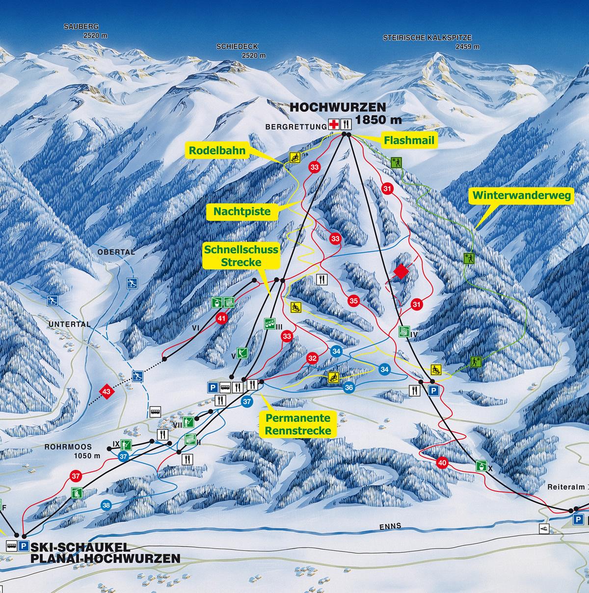 Hochwurzen - Ski amade