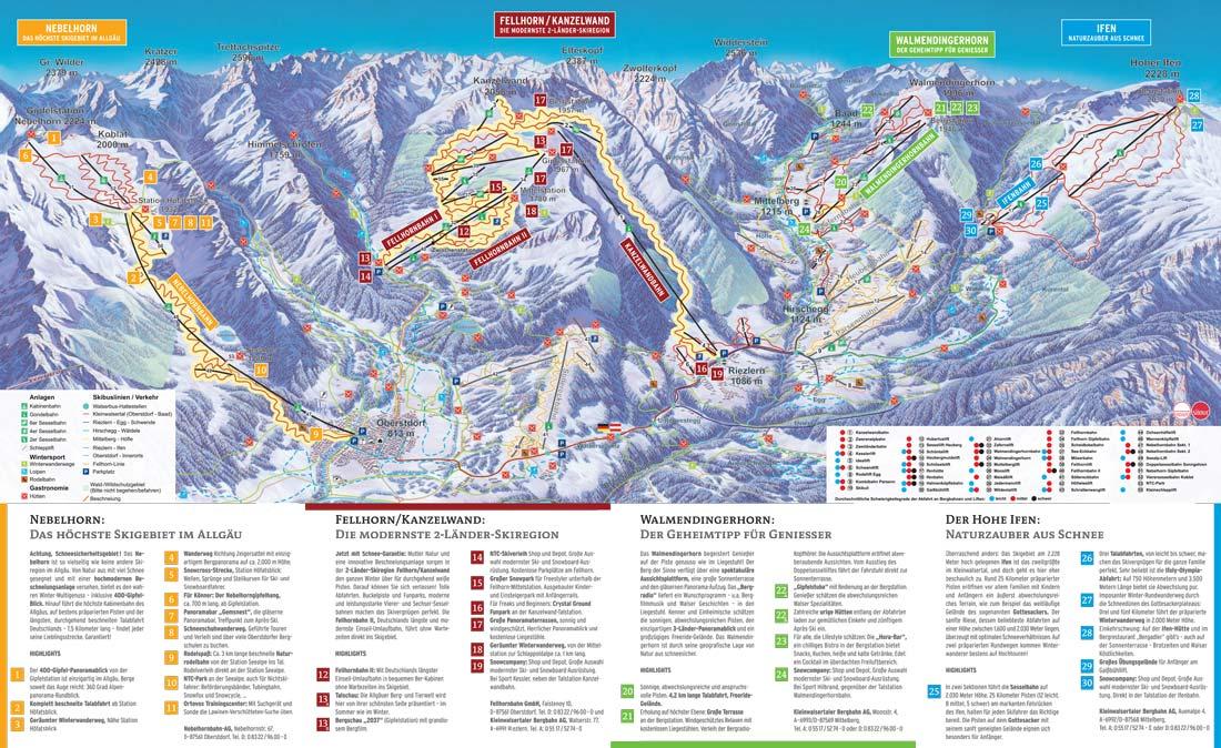 Kleinwalsertal - Talskigebiet