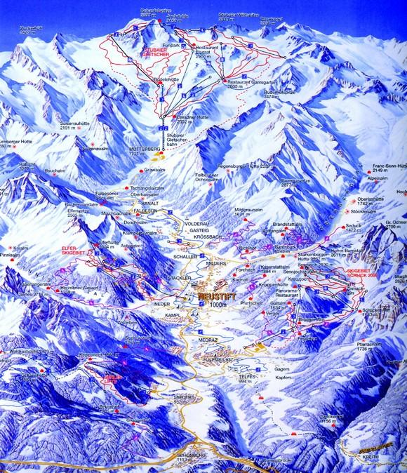 Stubai gleccser
