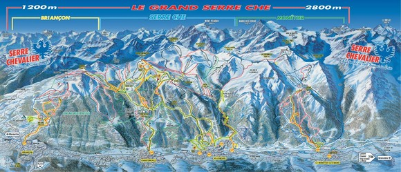 Serre Chevalier-Briancon / Grand Serre Chevalier