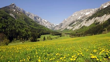Seewiesen-en át a Hochschwabra