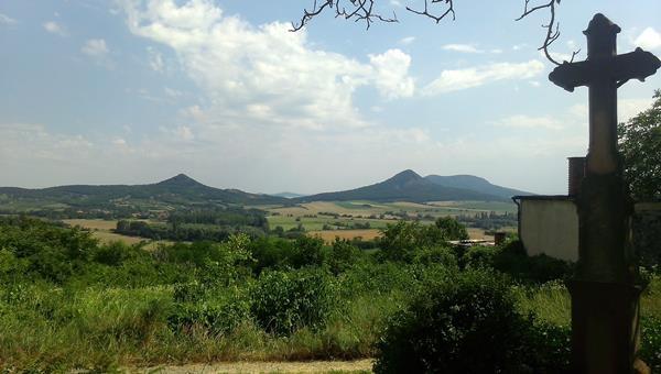 Mindszentkálla-Kopasz hegy-Csobánc-Díszel-Mindszentkálla