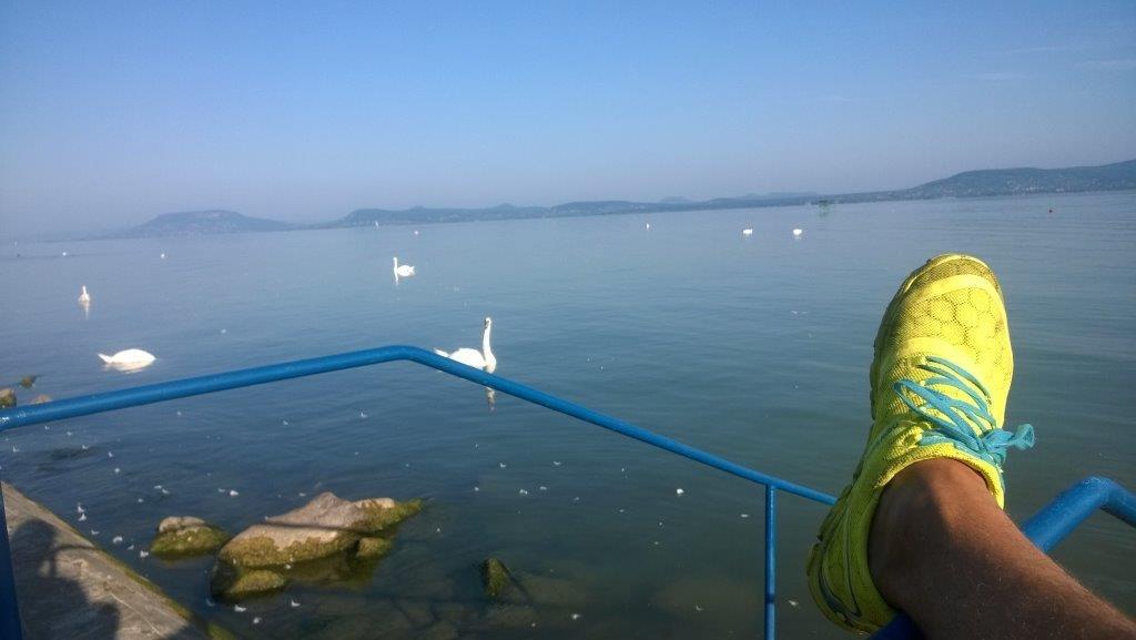 Balatonlelle szabad strandjától a balatonboglári gömbkilátóig