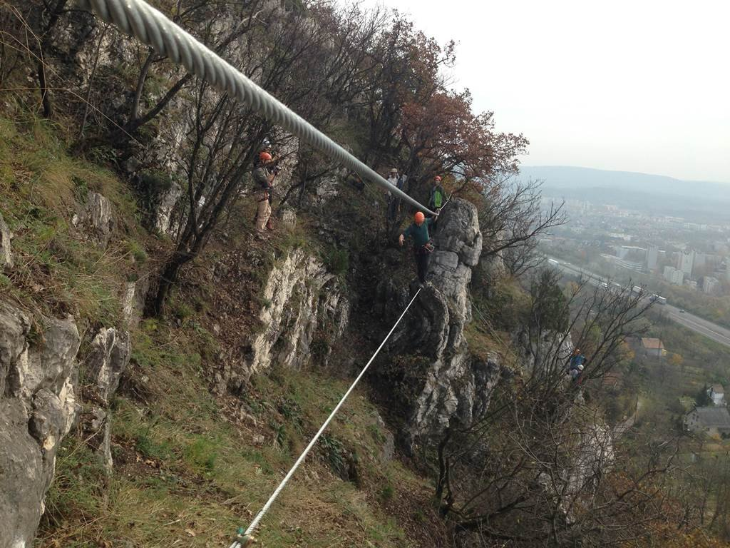 25 méteres kötélhíd
