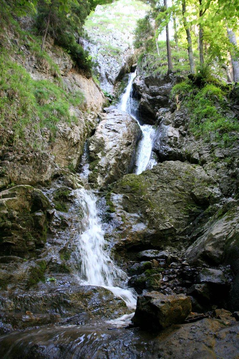 A 22,5 méteres Nálepka vízesés