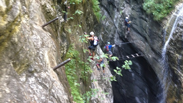 Postalm Klamm via ferrata