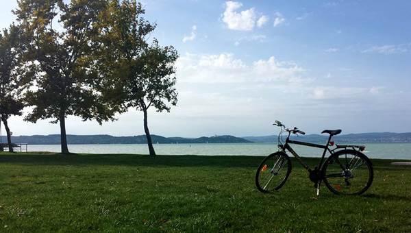 Balatonföldvár-Siófok kerékpártúra