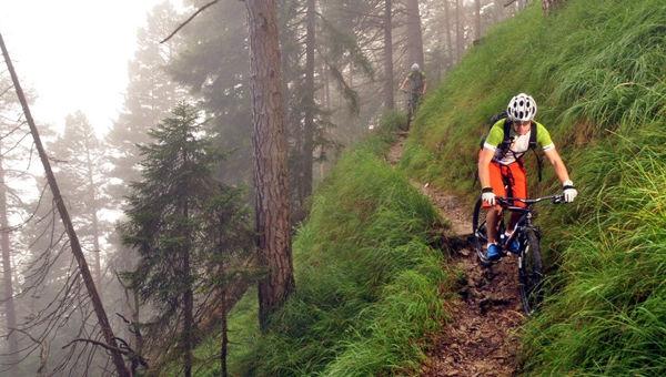 Single-trail a'la Garmisch