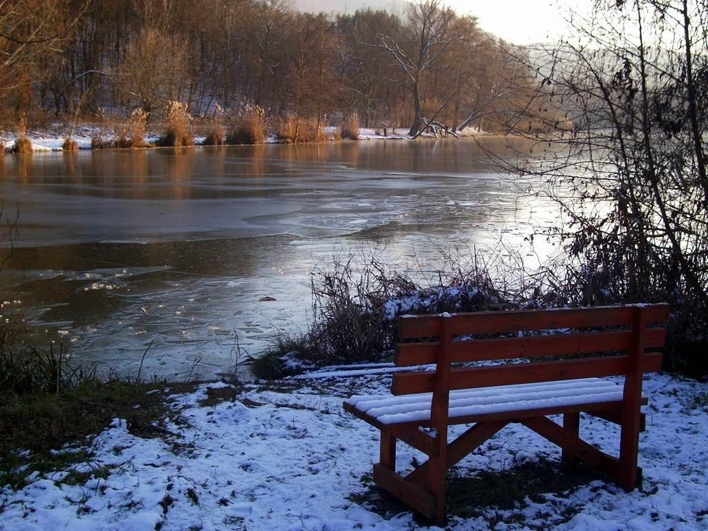 Esztergom-Vaskapu télen