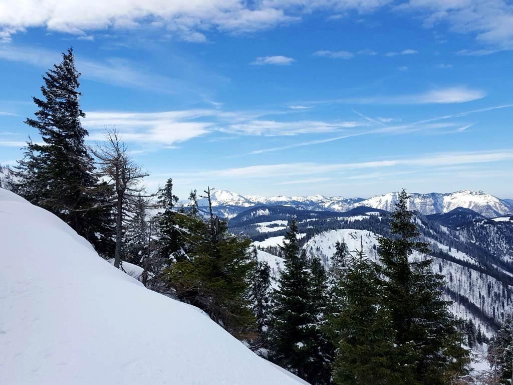 Fantasztikus a kilátás a Gemeindealpe tetejéről