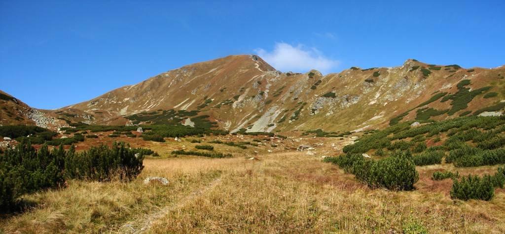 A Jamniki-völgyből a Jamniki-hágón át a Volovecre
