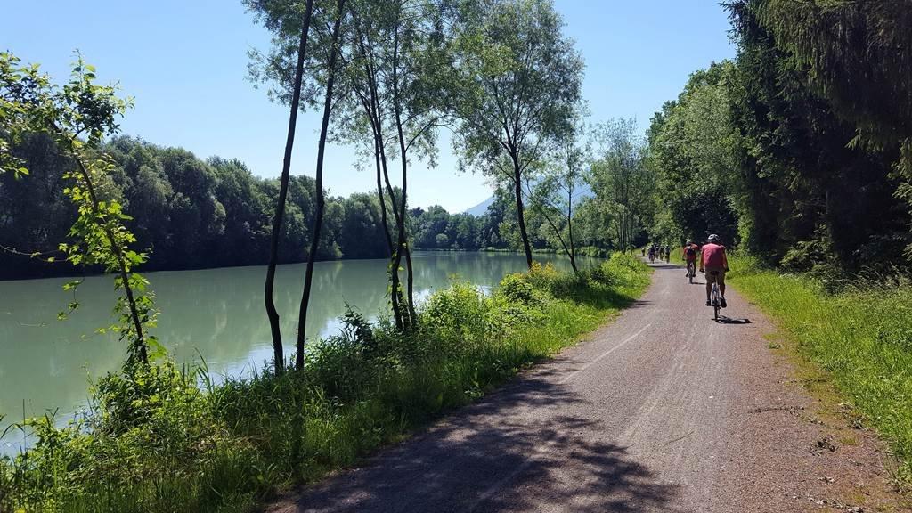 A Dráva egy csendes szakaszán