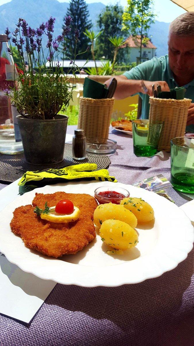 Ebéd a Naturbad Puch-ban