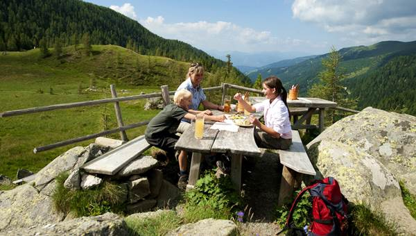 Alpe-Adria-Trail 4. szakasz: Marterle - Stall