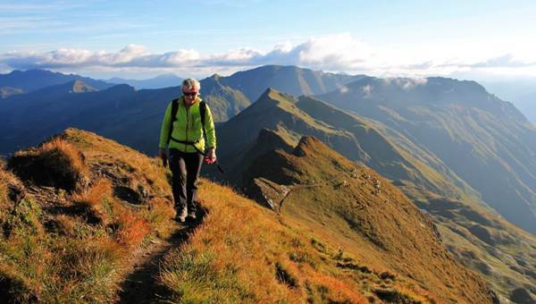 Tauernhöhenweg 6 napos túraút