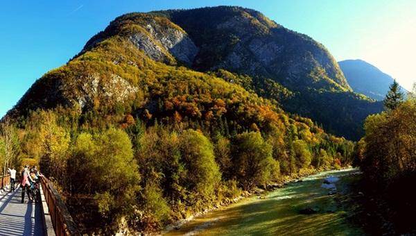 Bovec - Soča mountainbike kör