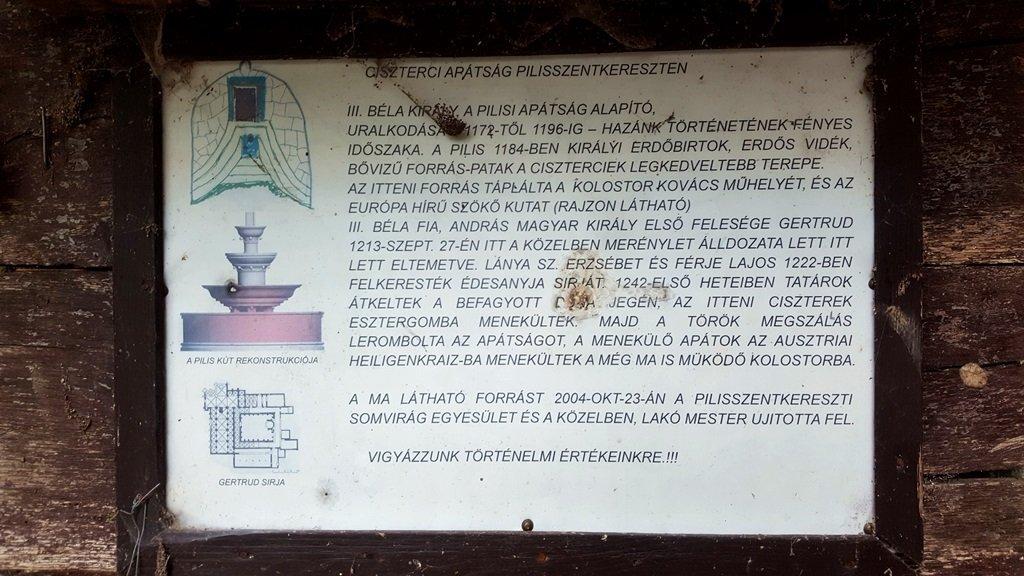 A Klastrom-kút forrásának története