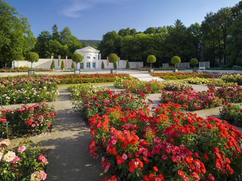 Kerékpártúra szépséges osztrák kertek mentén