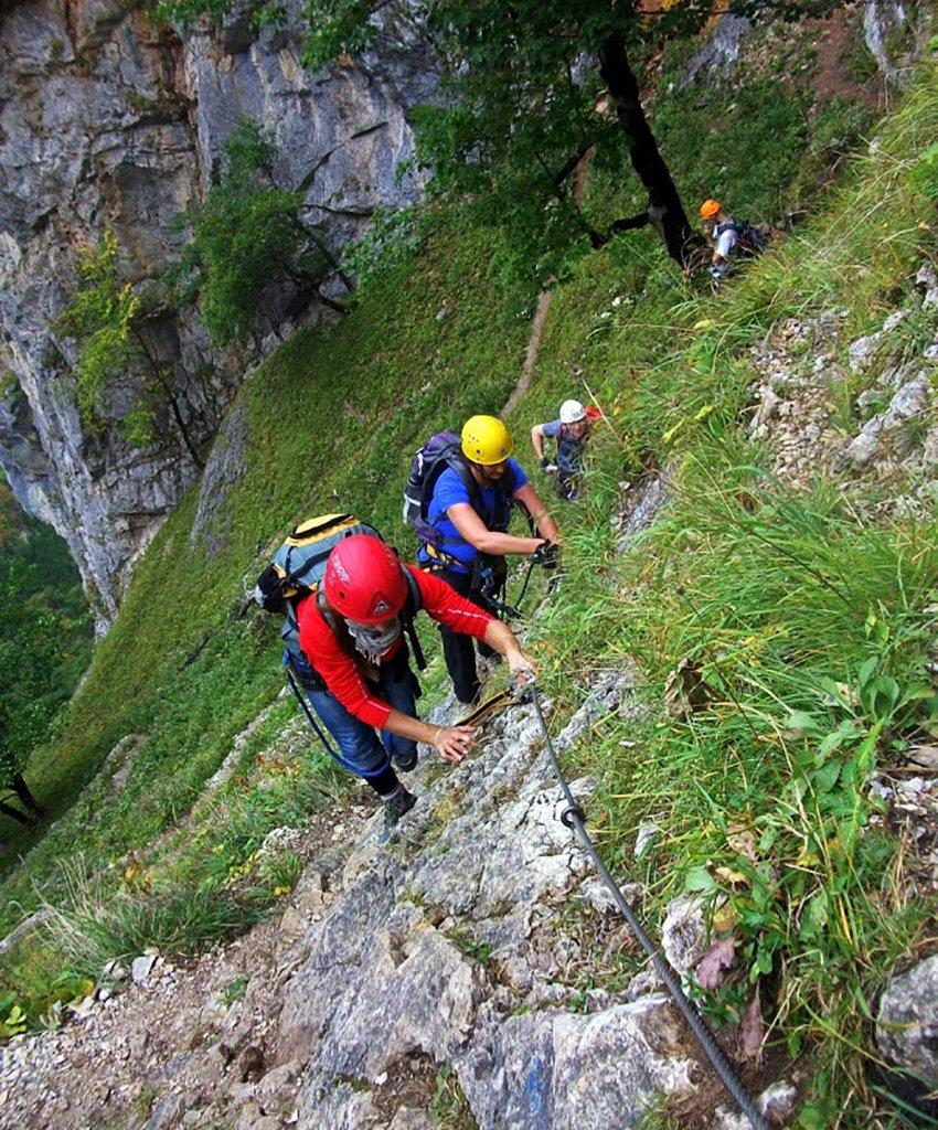 Úton az Alpenvereinssteigen