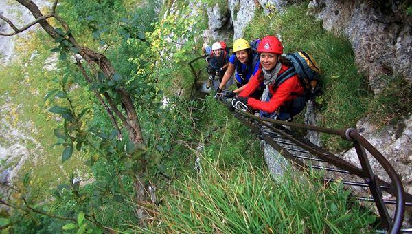 Alpenvereinssteig via ferráta