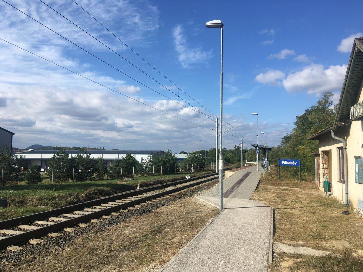 Pilisi bortúra - Piliscsév vasútállomás