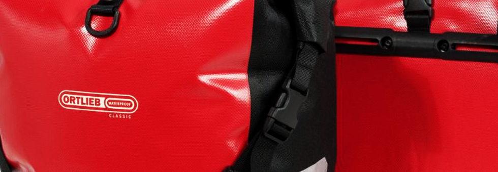 Vízálló kerékpáros táska teszt - Ortlieb