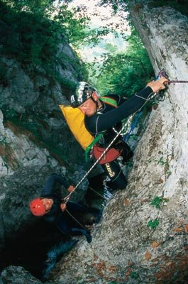 Kanyoning Trentában