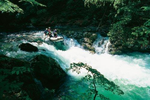 Extrém rafting Blejski vintgar