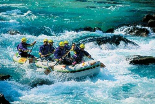 Rafting a Socán