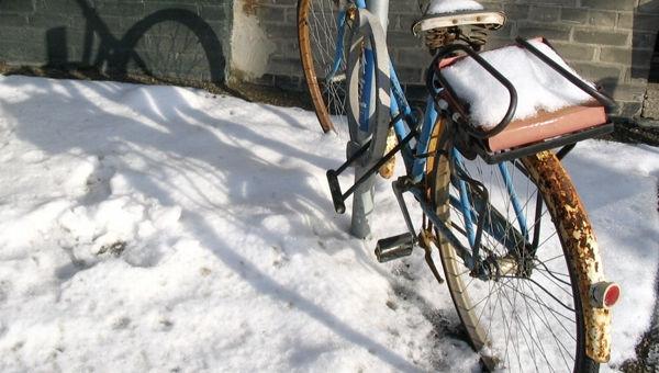 Óvd a téli időjárásban is kerékpárod