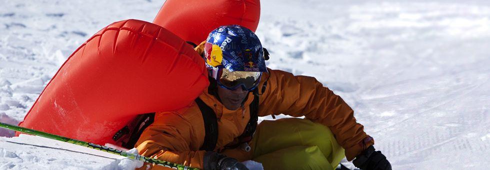 Lavina felszerelések: airbag hátizsákok