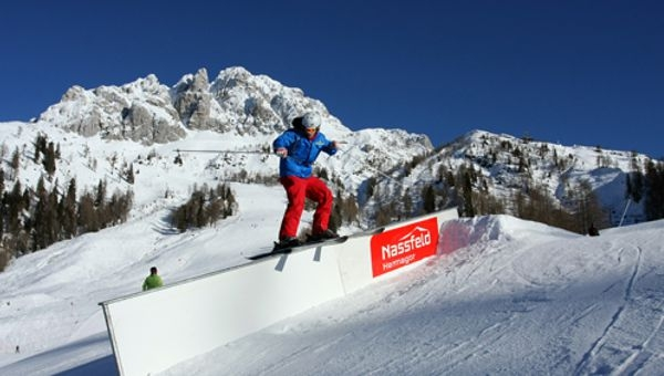 Látványos Snowboard verseny Nassfelden