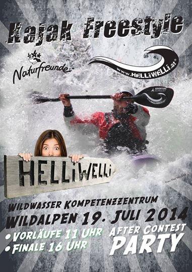 Kajak Freestyle Wildalpen 2014
