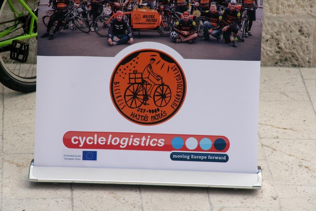 A cyclelogistics projekt része.