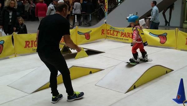Snowboard 3-6 éveseknek Donovalyban