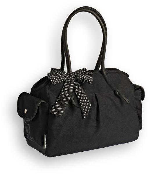 Basil Katharina Shoulder Bag fekete pöttyös válltáska