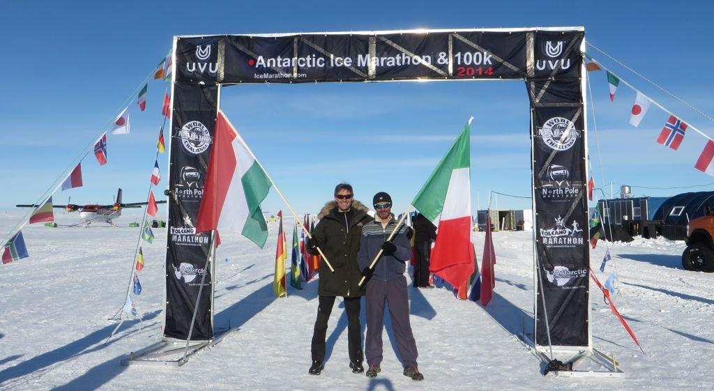 Antarktisz Maraton - Tóth István