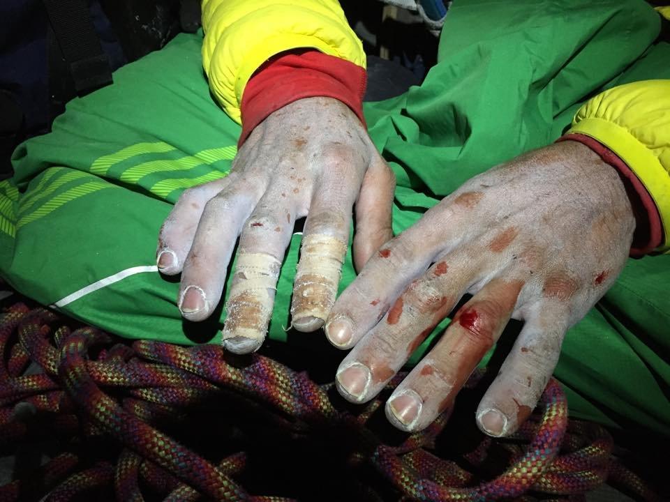 Jorgeson ujjai - küzdelem a 15. hosszért