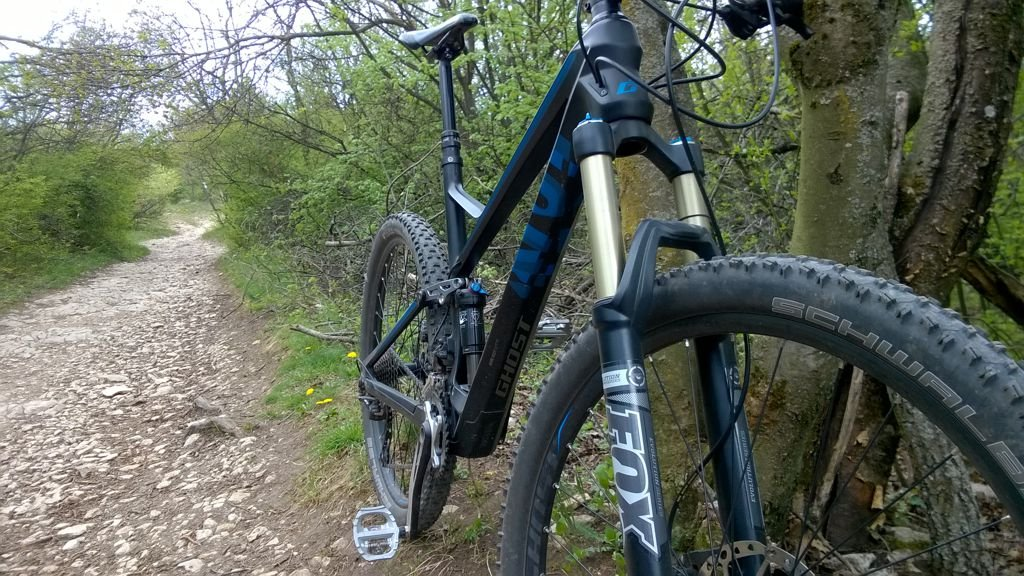 Alpinbike teszttekerés