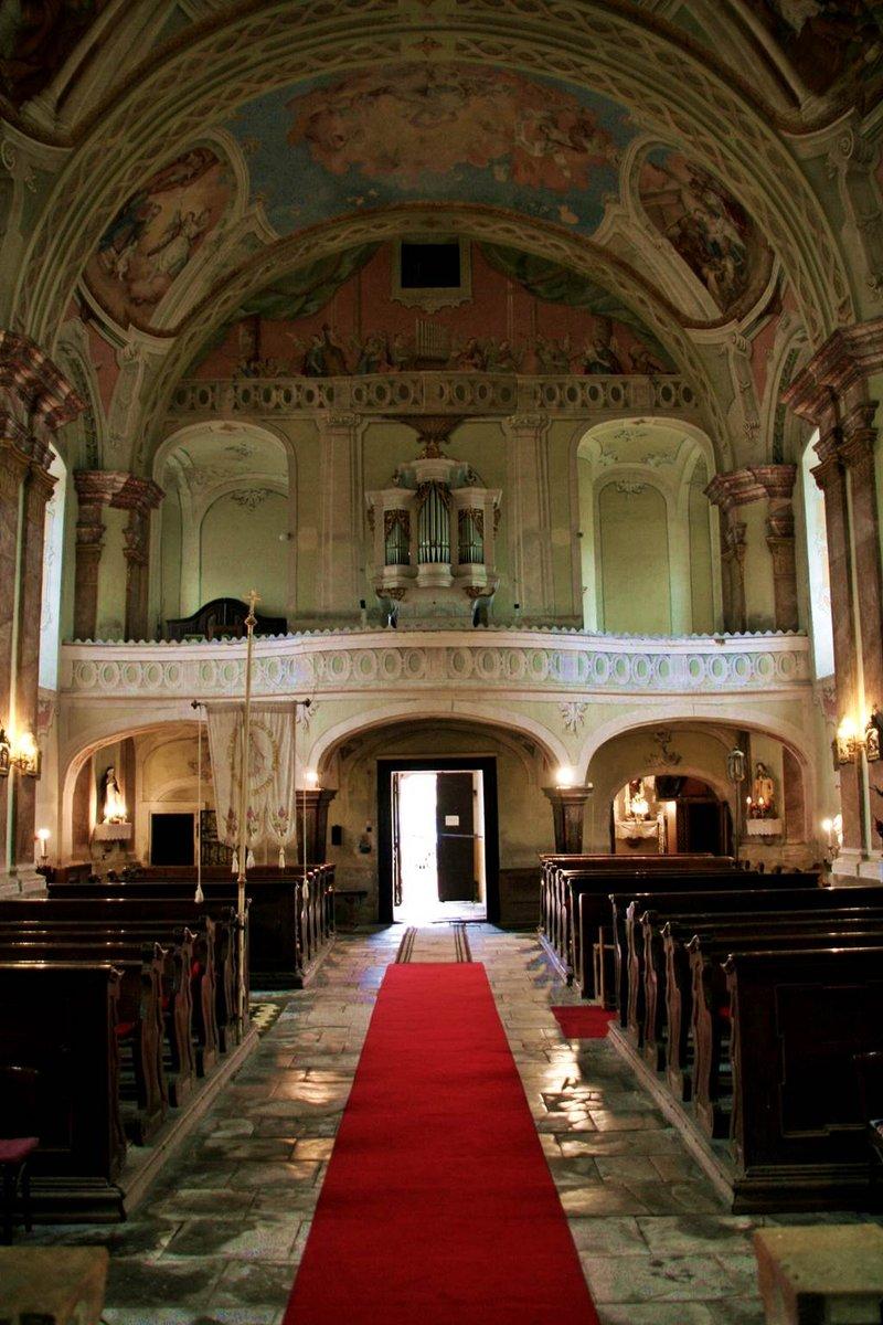 A szécsiszigeti Szapáry templom