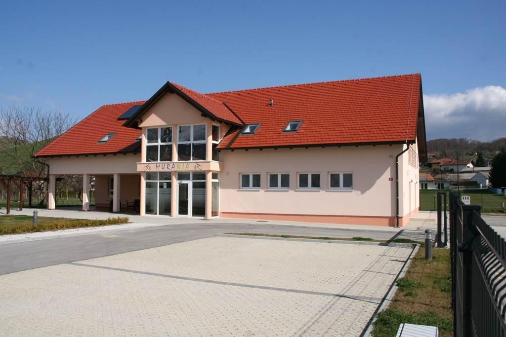 A Pannon-Pleasure projekt másik központja a szlovén oldalon, Csentén