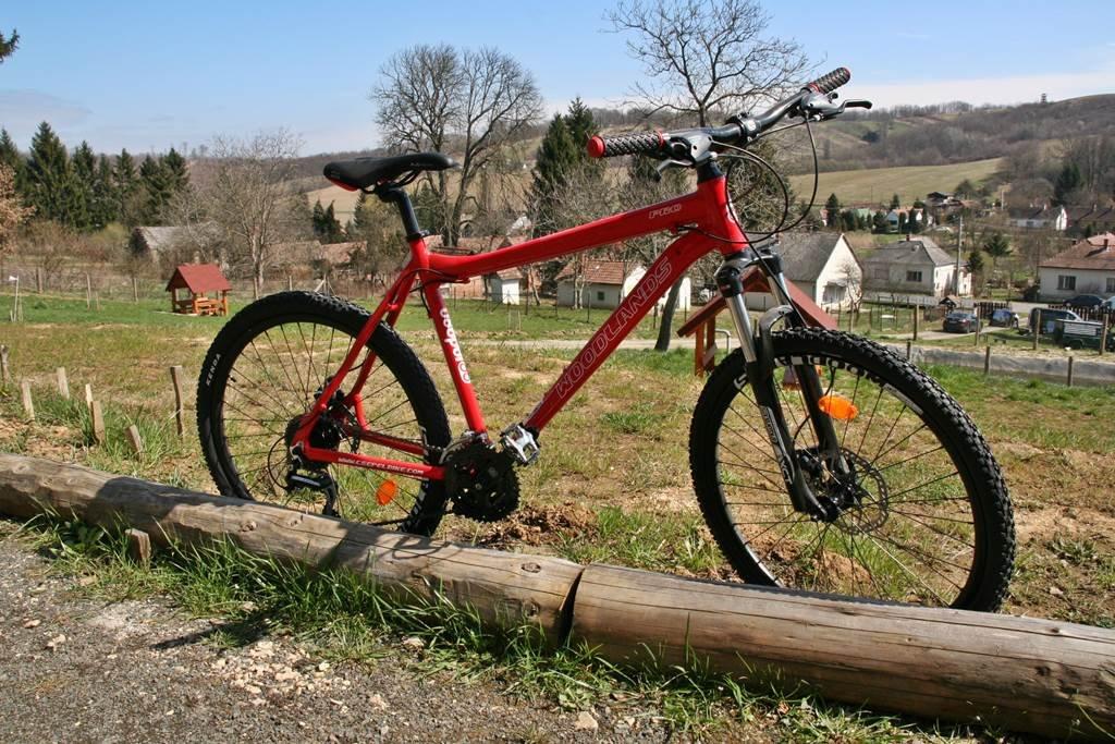 Kölcsönözhető mountainbike-ok a házban