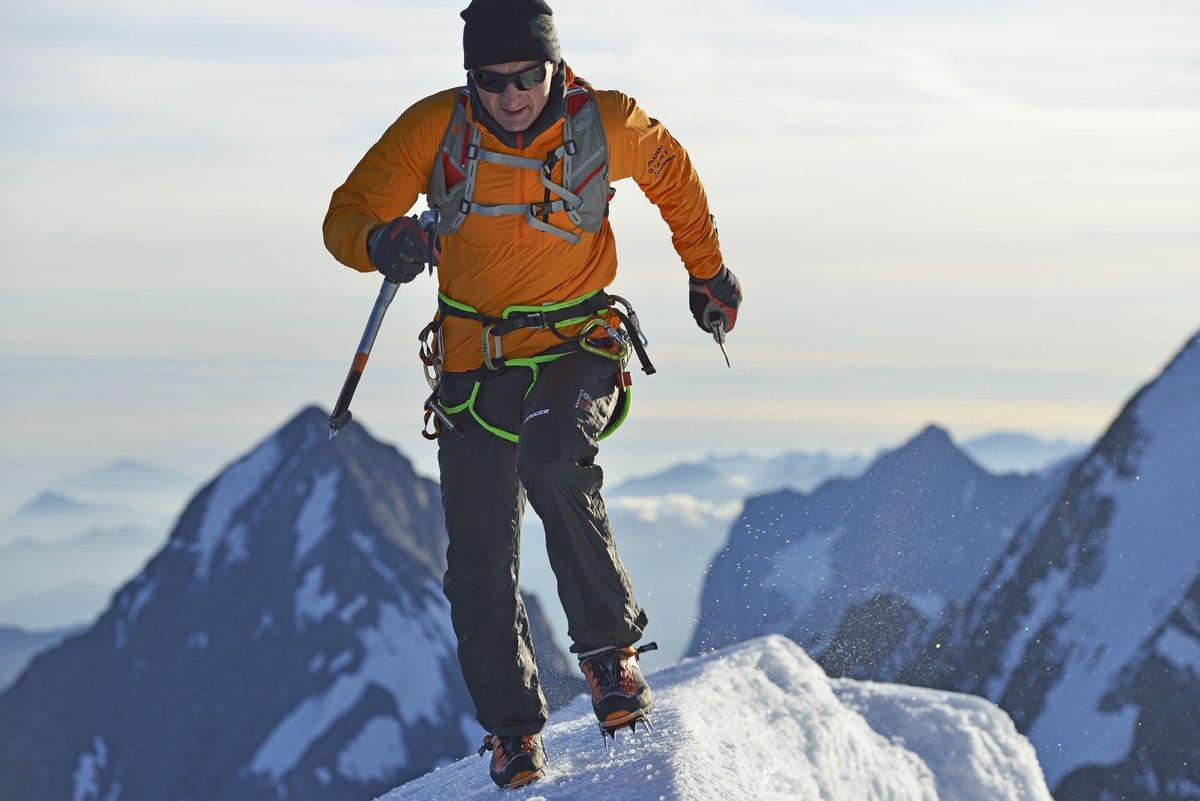 Az Eiger csúcsán