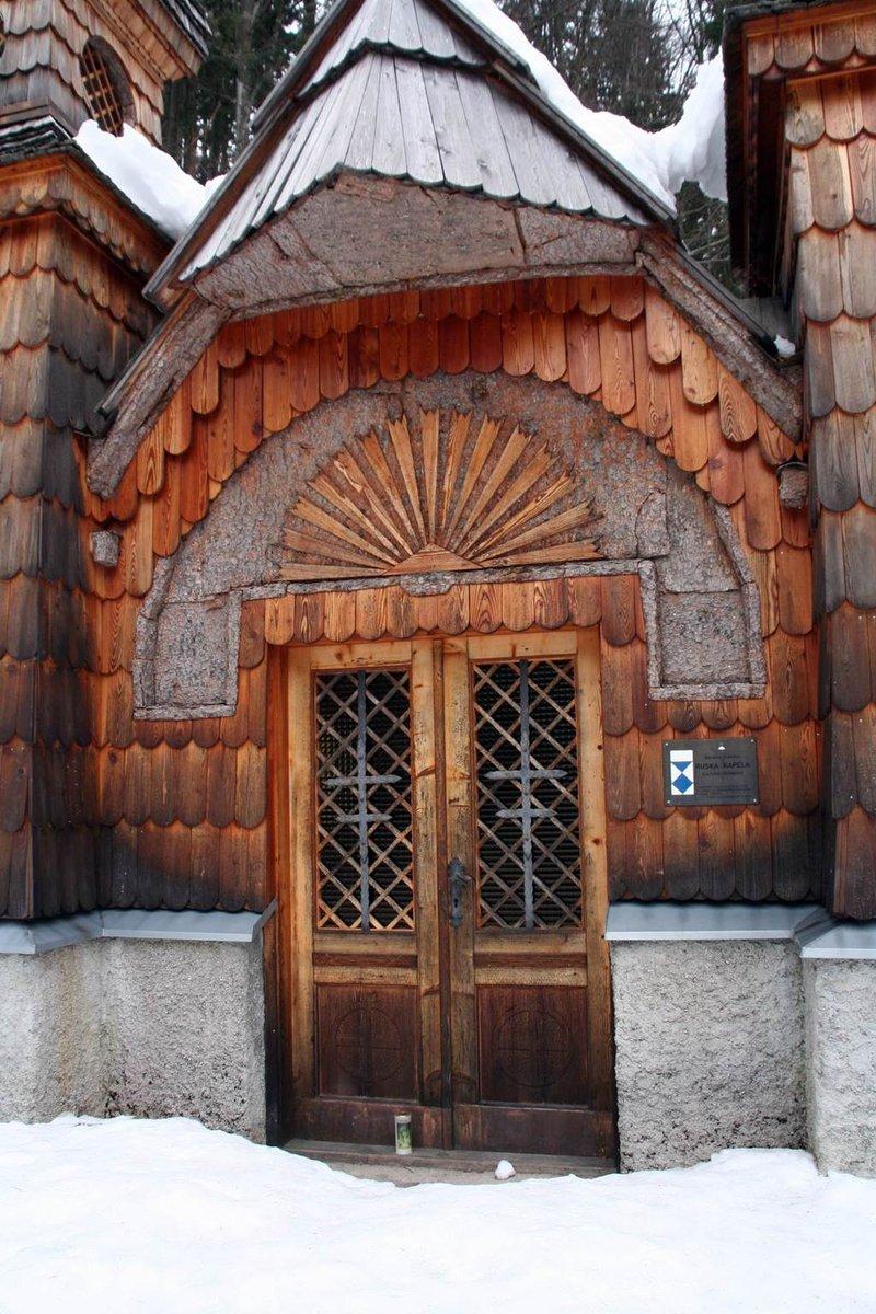 Az orosz kápolna a Vršič hágó mentén