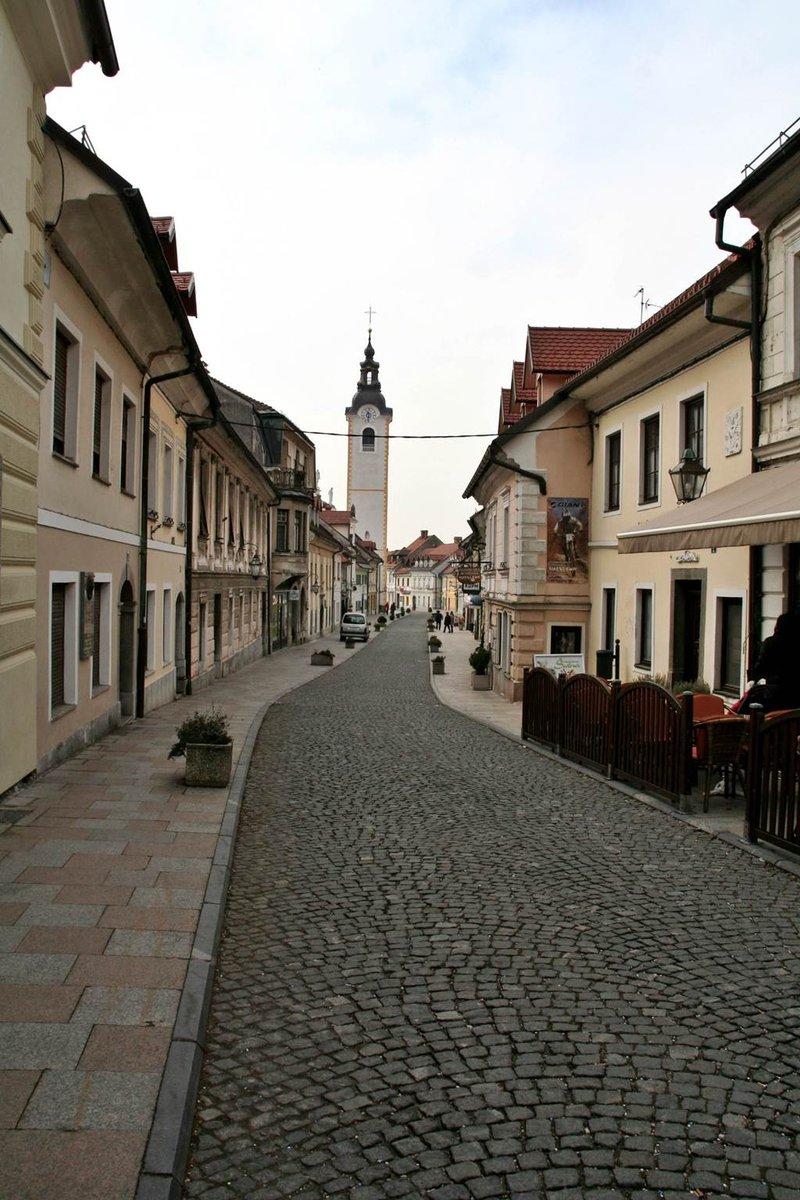 Az óváros hangulatos utcácskája