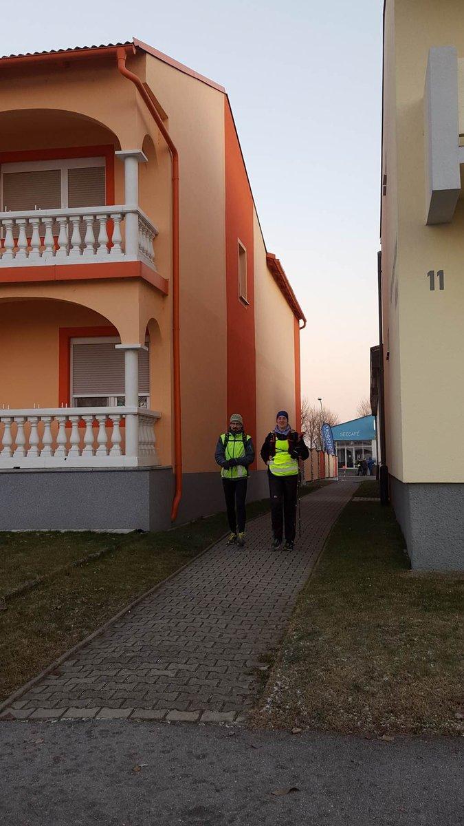 A Seecafé frissítőpontját elhagyva újabb 12 km gyaloglás következik Neusiedl am See-ig