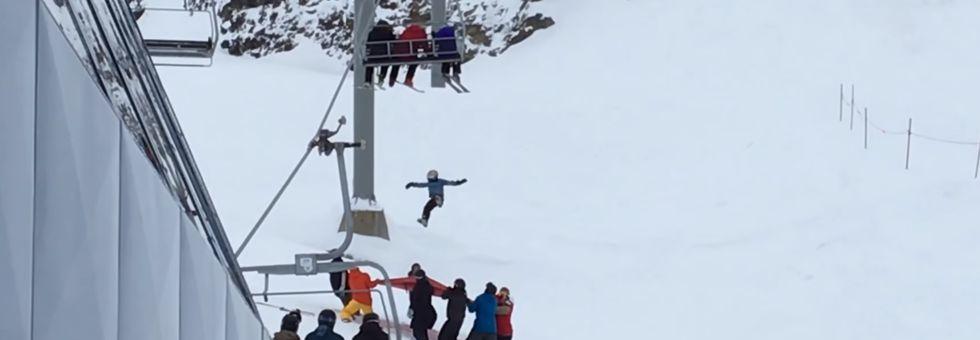 11 éves fiú zuhant ki a síliftből