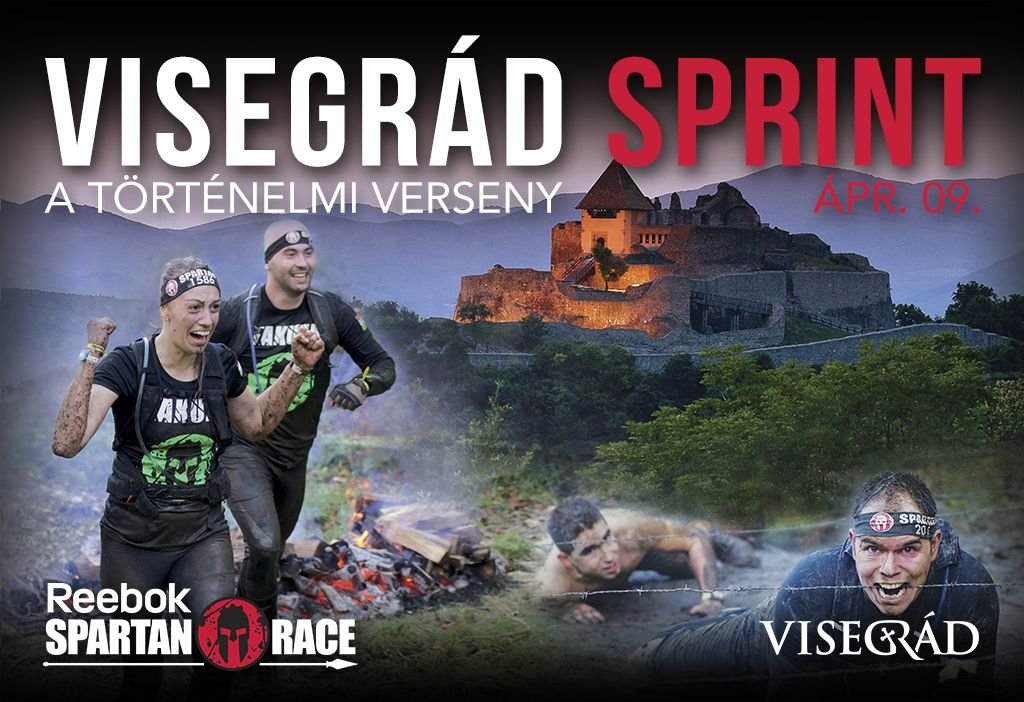 Áprilisban Spartan Race Visegrádon!